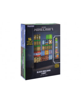 Светильник Paladone Minecraft Block Building Light EU PP6596MCFEU